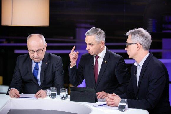 Jonas Miškinis, Povilas Urbšys, Tadas Ignatavičius