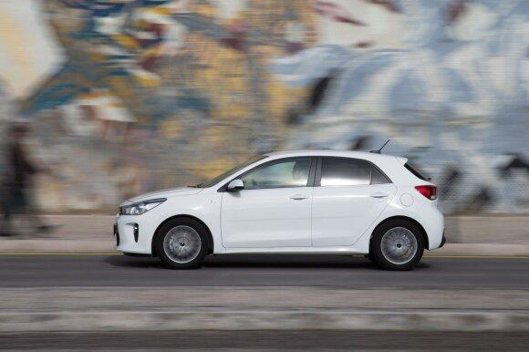 """""""Kia Rio"""" yra populiariausias šios korėjiečių markės automobilis pasaulyje"""