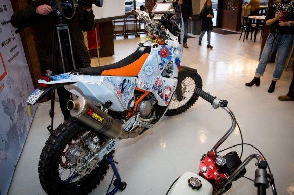 Balio Bardausko motociklas