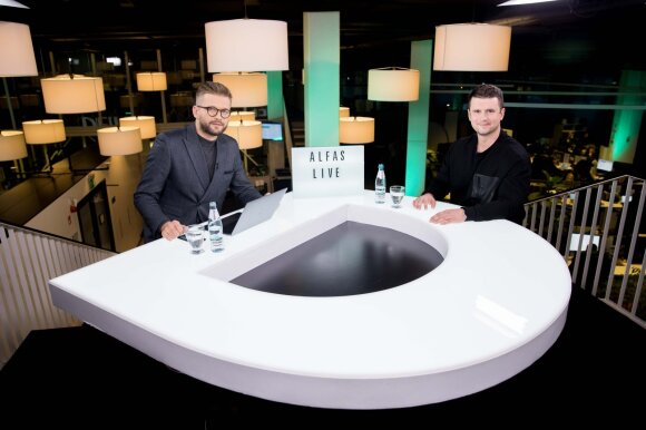 Alfas Ivanauskas ir Artūras Sujeta