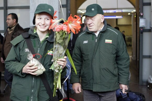 Agnė Sereikaitė, Antanas Vilčinskas