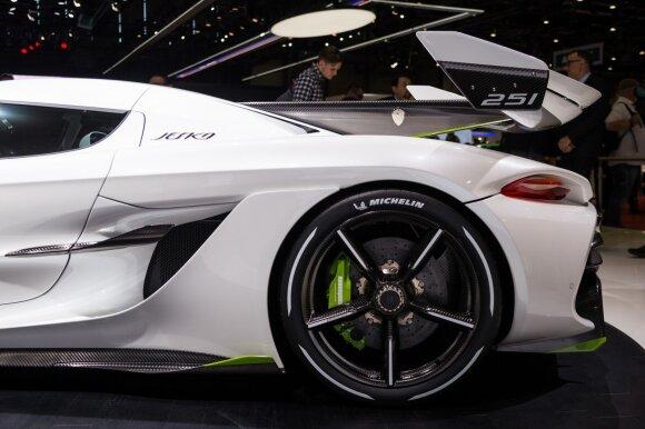 """Ženevos automobilių parodoje pristatytas """"Koenigsegg Jesko"""""""