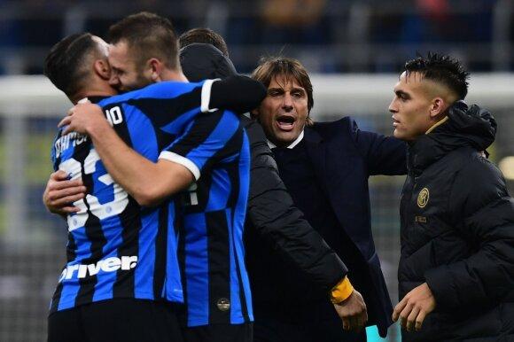 """Milano """"Inter"""" ir Antonio Conte"""