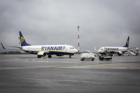"""""""Ryanair"""" susprogdino tikrą netikėtumo bombą"""