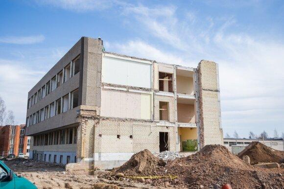 Naujas policijos pastatas Panevėžyje tampa realybe: statyboms pradėta ruošti teritorija
