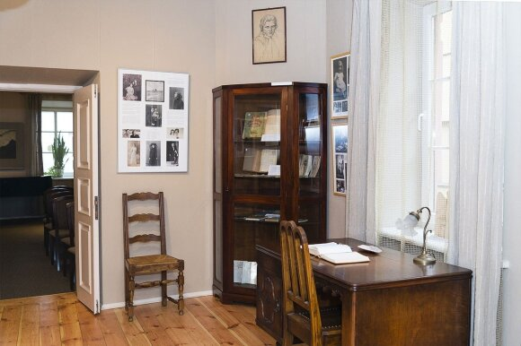 Inside Čiurlionis House in Vilnius  Photo © Ludo Segers @ The Lithuania Tribune