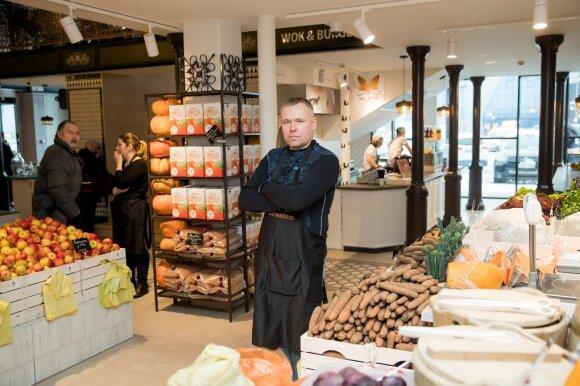 Pavydžiai žiūri į Vilniaus turgų