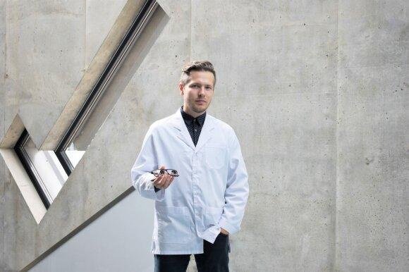 Optometrijos specialistas Aivaras Daukontas