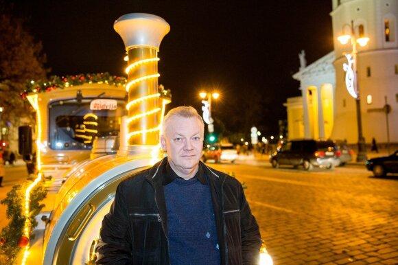 Водитель рождественского поезда Вильнюсе: кто он?
