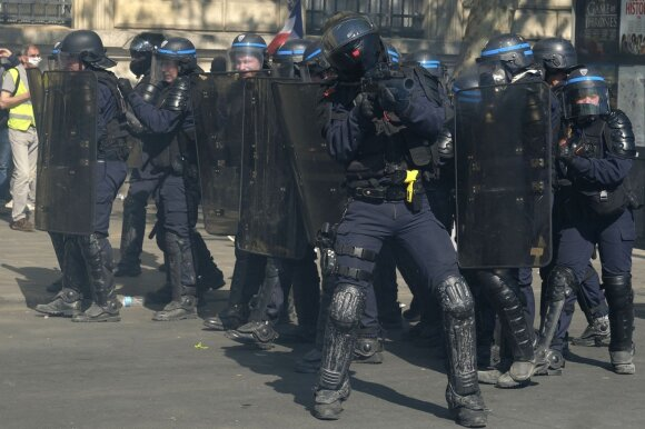 Prancūzijos riaušių policija