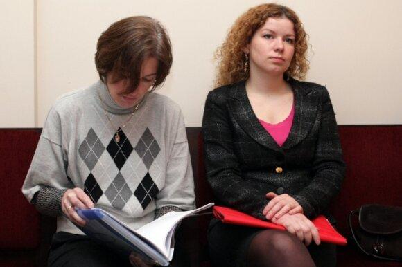 Jūratė Driukienė (kairėje) ir Eglė Adomaitytė