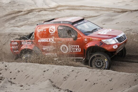 """Antano Juknevičiaus """"Toyota Hilux Overdrive"""""""