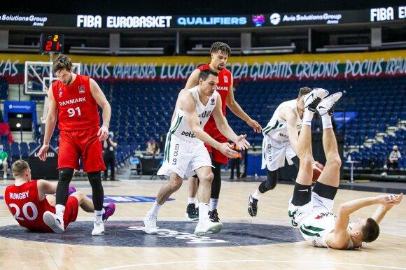 Skandinavai nenuskandino: tikrą dramą išgyvenusi Lietuvos rinktinė žais Europos čempionate