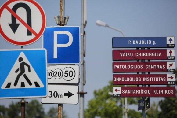 Automobilių statymo tvarka siutina Santarų klinikų lankytojus: ar valstybei rūpi gyventojų interesai?