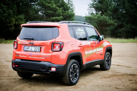 """Jeep Renegade Trailhawk"""