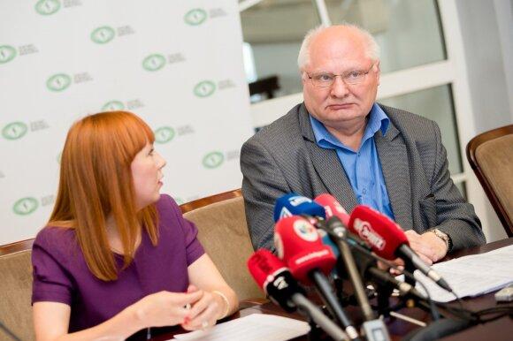 Jurgita Petrauskienė ir Pranas Žiliukas