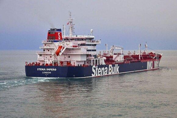 Sulaikytas tanklaivis
