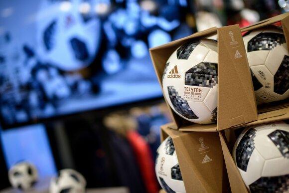 "FIFA 2018 kamuolys ""Telstar"""