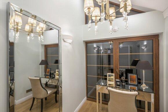 93 kv.m butas Vilniuje: interjeras, kuriame svarbi kiekviena detalė