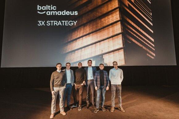 """Baltic Amadeus"" vadovų komanda"