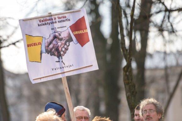 Kauno troleibusų vairuotojai sukilo prieš bendrovės vadovą