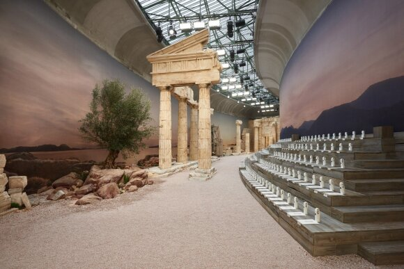 """Chanel"" kolekcijos pristatymo erdvė"