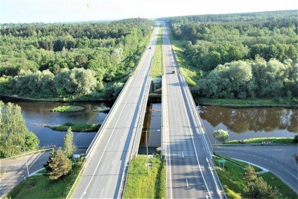 Autostrada Vilnius - Panevėžys / Gedimino Nemunaičio nuotr.