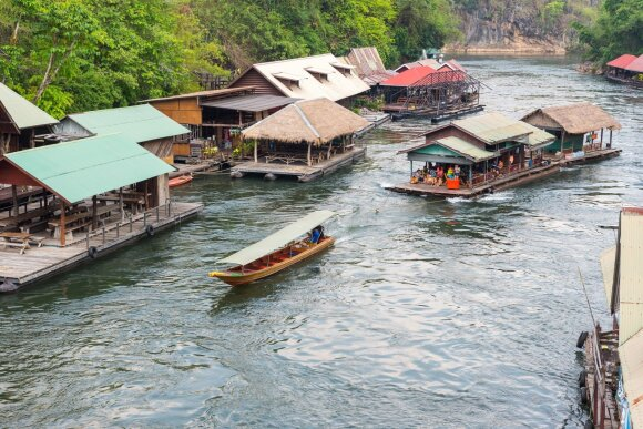 Viešbutis ant upės Kwai