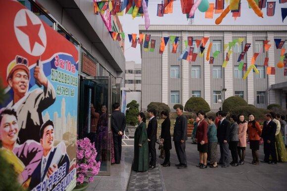 Rinkimai Šiaurės Korėjoje