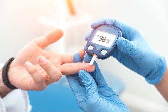 Cukrinis diabetas.