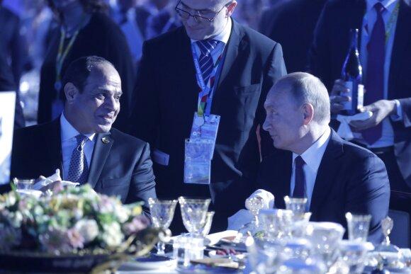 Abdelis Fattah el-Sisi, Vladimiras Putinas