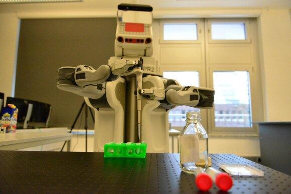 robotas ACAT, Rubedos sistemos nuotr.