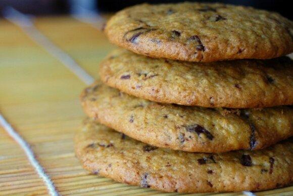 Traškūs moliūgų sausainiai