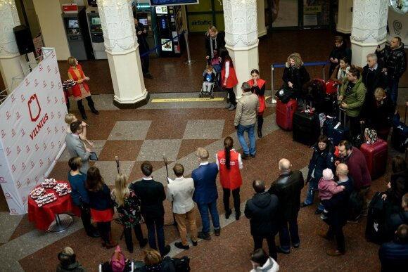 Vilniaus 1000000 turisto sutikimas