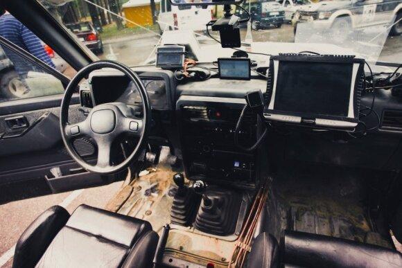 Bekelės automobilyje gausu technologijų