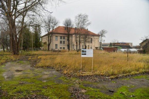 Apleistas sklypas Panevėžyje bus prikeltas naujam gyvenimui: laukia statybos