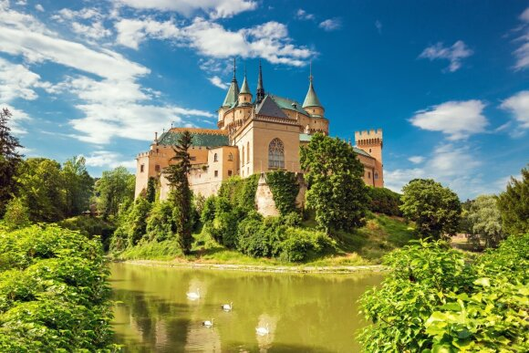 Boinicės pilis, Boinicė, Slovakija