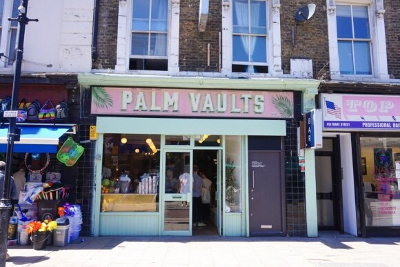 """Palm Vaults cafe"""