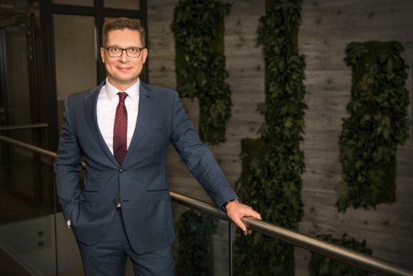 """""""Inreal"""" grupės vadovas Gediminas Pruskus"""