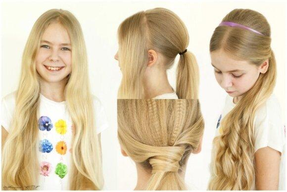 Madingos vaikiškos šukuosenos šiam pavasariui