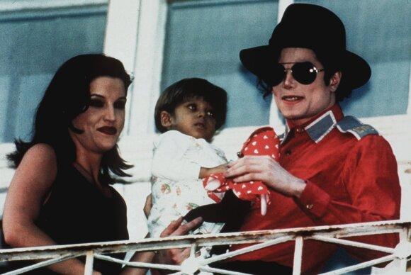 Michael Jackson ir Lisa Marie Presley