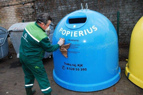 Plaunamas konteineris
