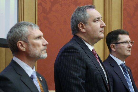 Alexey Zhuravlev, Dmitry Rogozin, Sergey Zhigarev