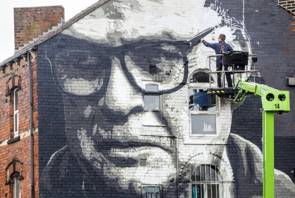 Marcelo Bielsa nutapytas ant sienos Lidse
