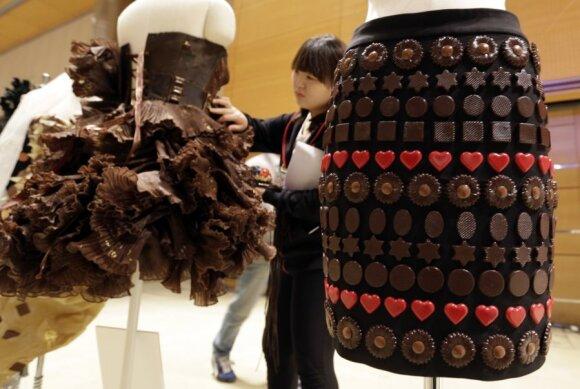 Seule pristatyta šokoladinė drabužių kolekcija