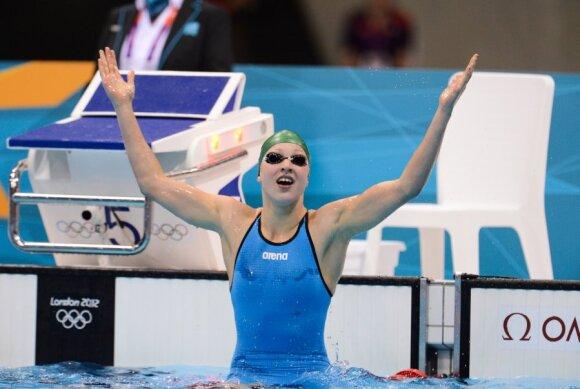 Rūta Meilutytė - olimpinė čempionė
