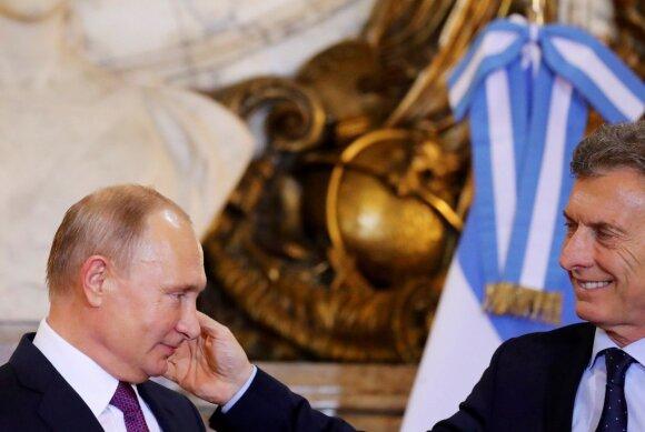 Vladimiras Putinas, Mauricio Macri