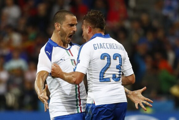 Euro 2016: Belgija - Italija