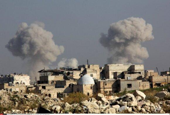 Nematomi žaidėjai Sirijoje: kas slepiasi už Maskvos ir Vašingtono durų