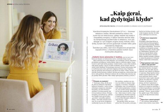 Karolina Kriukelytė–Slavinskienė: kaip gerai, kad gydytojai klydo